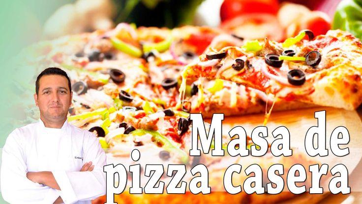 Masa de pizza casera (Tipo Domino's o Telepizza) - Recetas de cocina