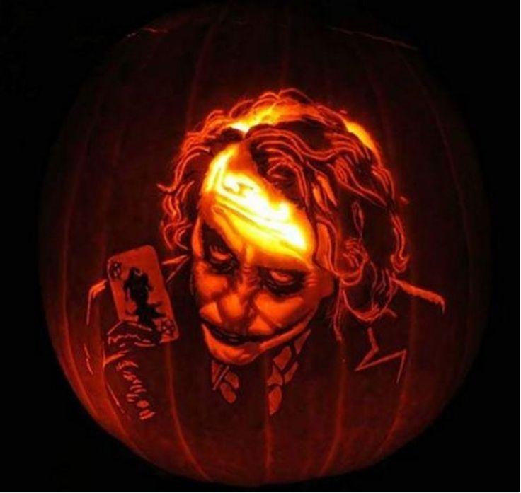 Best joker pumpkin ideas on pinterest
