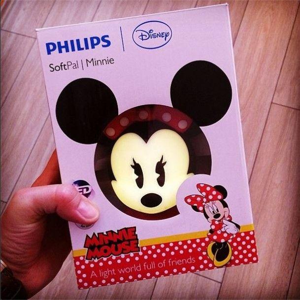 Minnie Mouse éjszakai fény gyerekeknek