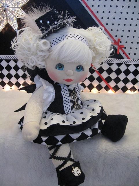 "OOAK Mattel My Child Doll ~ Dice Fairy ~ ""Chance"""