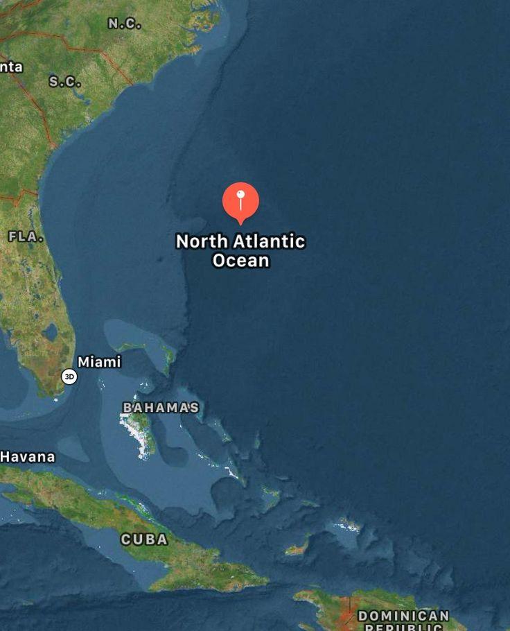 3031u0027N 7512u0027W Bermuda triangle or the sea