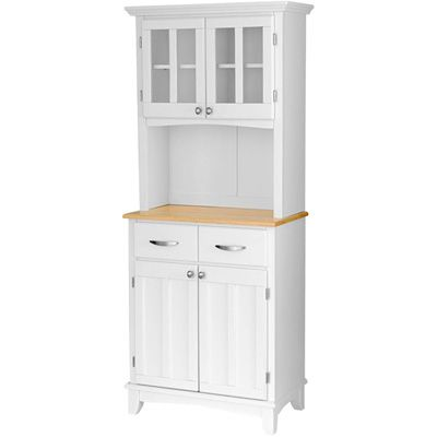 Product CabinetConstruction Material WoodColor WhiteFeatures Two DrawersFour Doors Dimensions H X W D