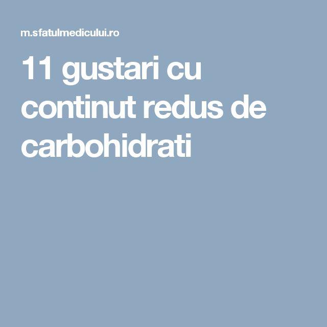 11 gustari cu continut redus de carbohidrati