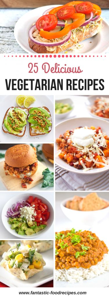 Most kids snub their noses at most vegetables. Two of my kids will try any dish I prepare, but the other one always wants to know what I put in a dish, especially if it is something new. Here are 25 Delicious Vegetarian Recipes that you can serve your family. These recipes are tasty and a great way to get more vegetables into their diets!