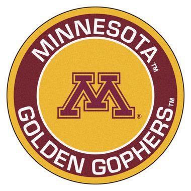 """Minnesota Golden Gophers 27"""""""" Roundel Area Rug Floor Mat"""