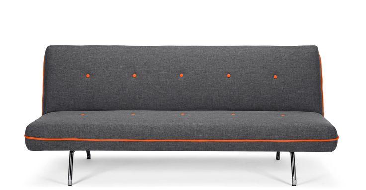 Miki Sofa Bed, Cygnet Grey