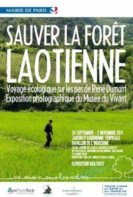 Exposition 2011 : Sauver la forêt Laotienne