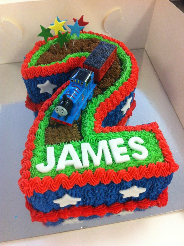 Pin Number Thomas The Tank Engine Cake on Pinterest
