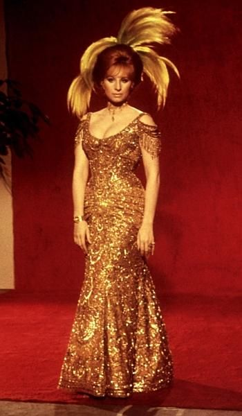 And there is it is, the gold dress from Hello Dolly, I'll take that one please
