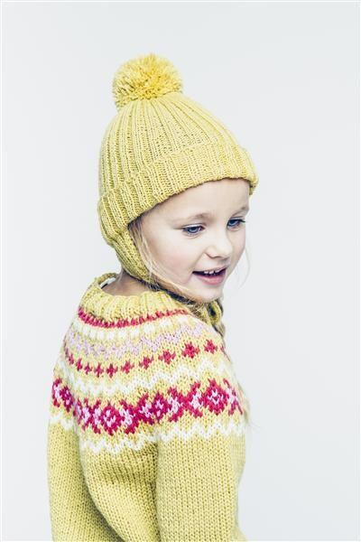 1501: Modell 13 Genser med mønster #sisu #strikk #knit