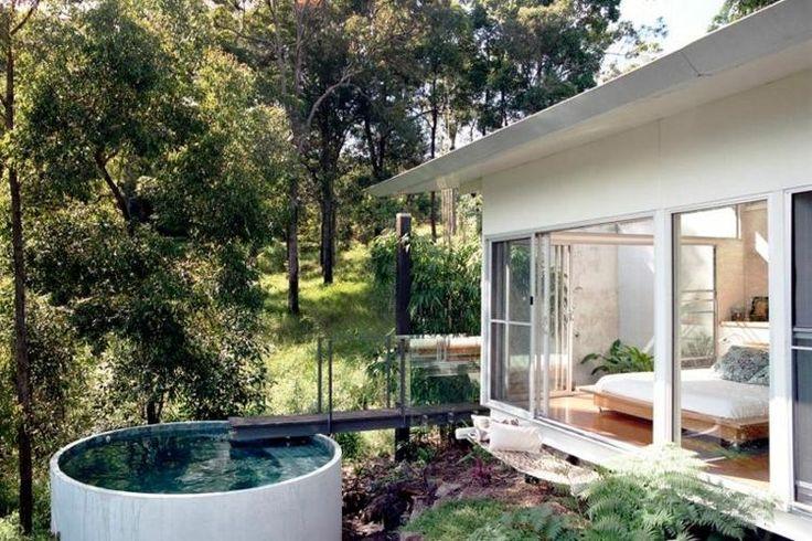 Piscine pour petit jardin 20 designs contemporains et peu encombrants piscine petits - Piscine pour petit jardin ...