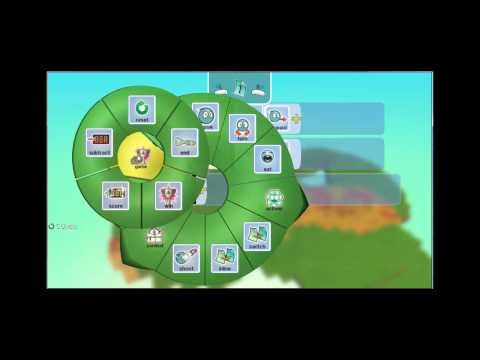 Met de software van Kodu kunnen kinderen een eigen omgeving maken en zo de basis beginselen leren van het programmeren.