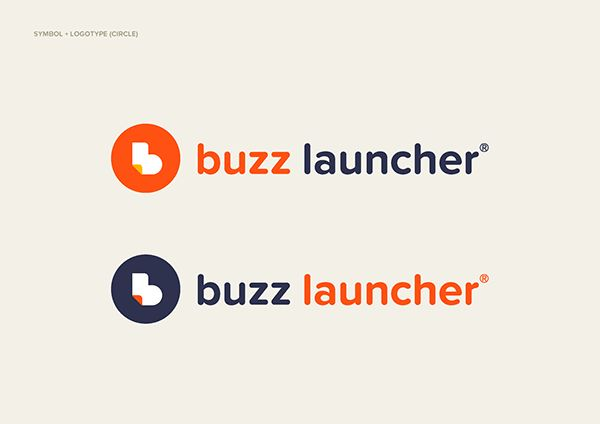 Buzz Launcher Branding on Behance