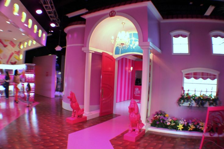 Inside the World's First-Ever Life-Size Barbie Dreamhouse   Curbed