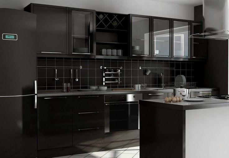 Дизайн черных кухонь http://www.belnovosti.by/design/54019-dizajn-chernykh-kukhon.html
