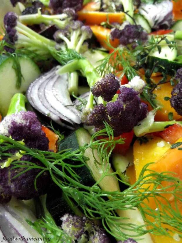 Universo dos Alimentos: Legumes assados com funcho e tomilho