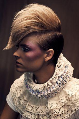 präsentiert von www.my-hair-and-me.de  #short #hair #kurze #haare #blonde #blond ä#brown #braun #seite #oben #lang #women