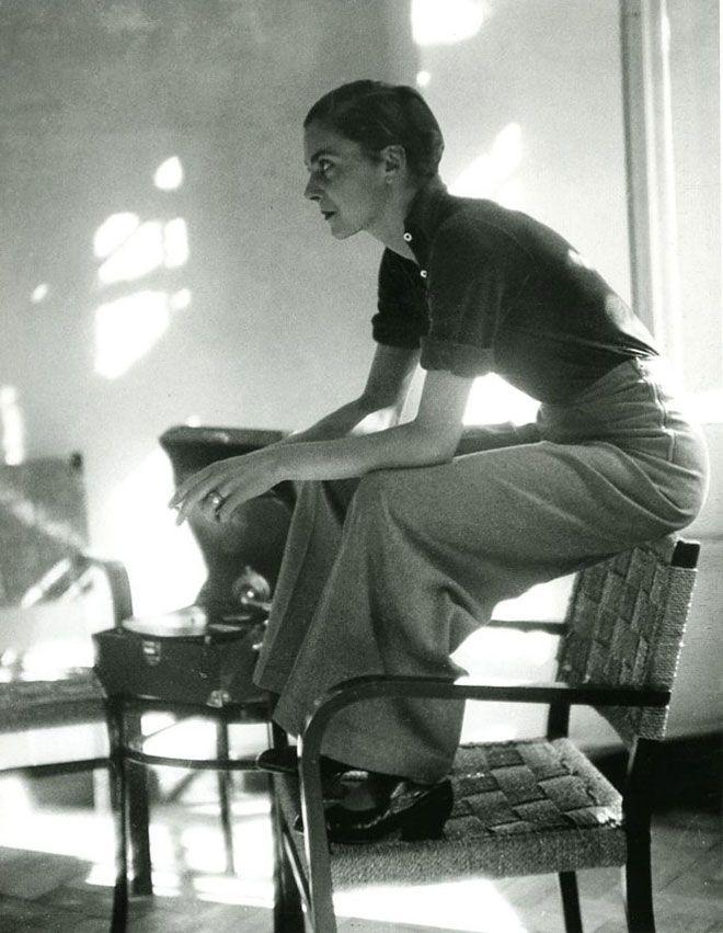 Lisa von Cramm, Berlin, 1934 by Marianne Breslauer