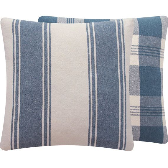 Ralph Lauren Striped Throw Pillow Cover 18x18