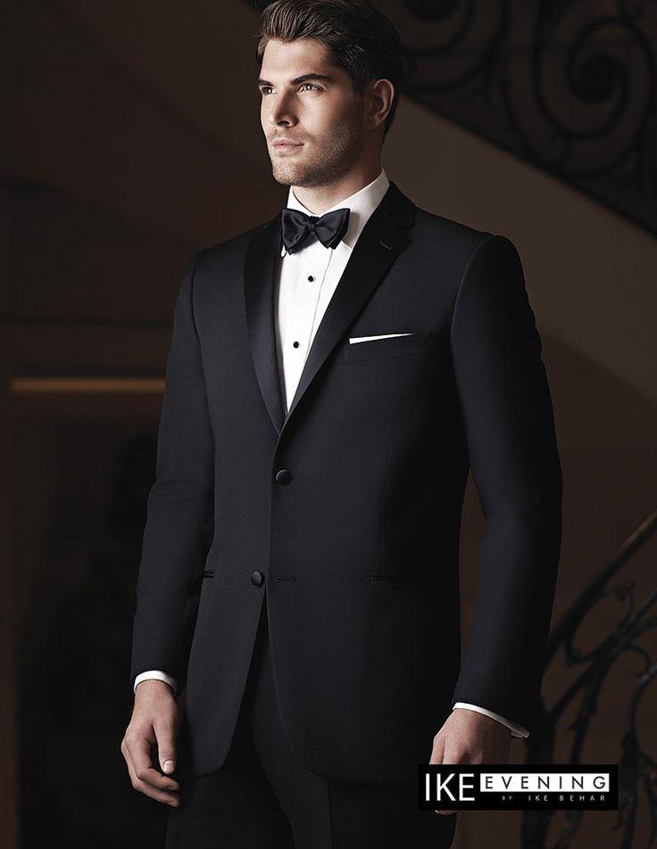 Ike Behar Evening 2-Button Notch Tuxedo (Slim Fit)