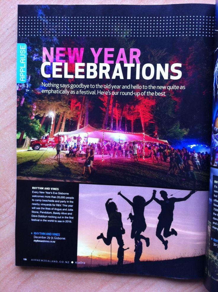 Thanks to Air New Zealand's Kia Ora magazine feature!