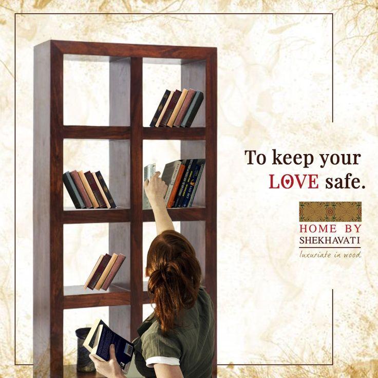 Books are way into someone's soul. They can be a great teacher. So, why not keep your books and the love you feel for them safe in strong and elegant bookshelves from Home By Shekhavati. To explore more, contact: +91-9414100611.