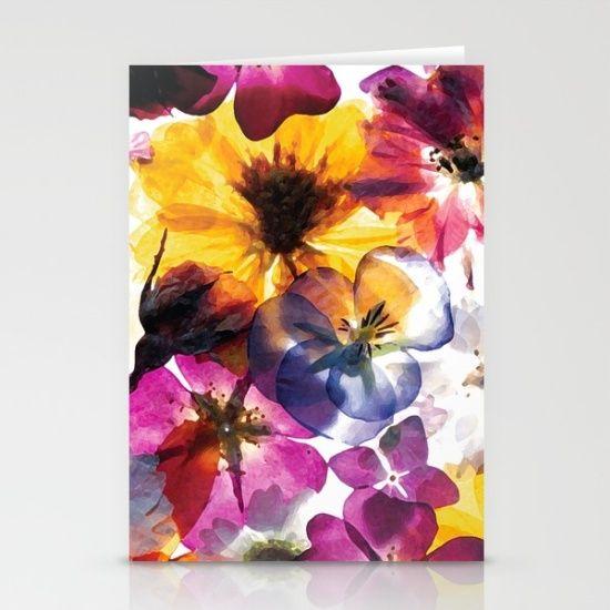 Floral Burst Cards