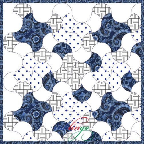 Clamshell Quilt Design
