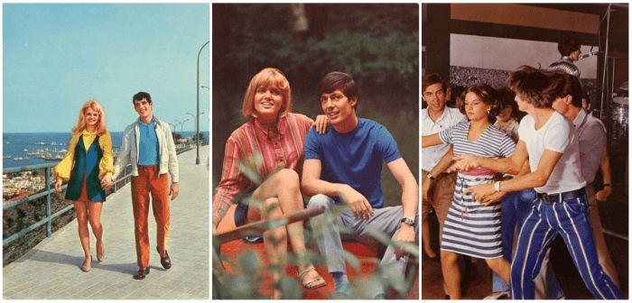 Мода на заре семидесятых (70-х) годов в Советском Союзе