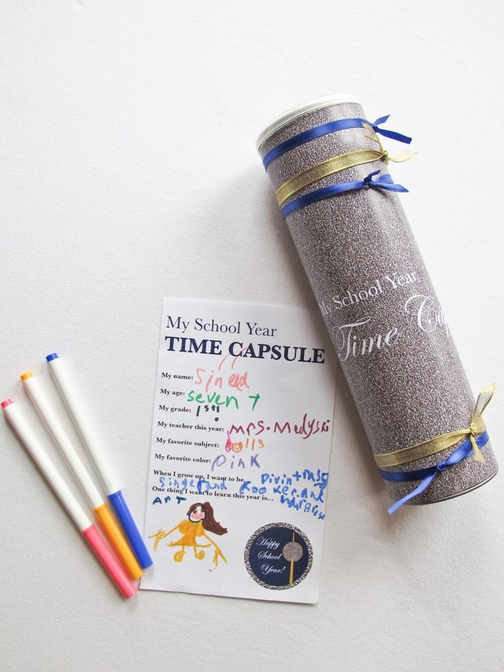 1000+ Ideas About Time Capsule Kids On Pinterest