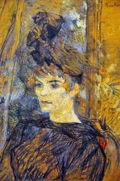 Henri De Toulouse-Lautrec - Portrait of the Painter Suzanne Valadon