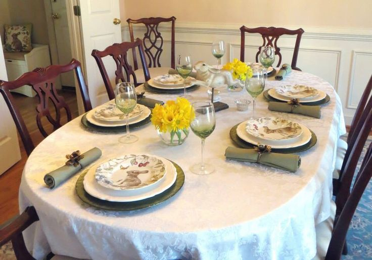 Easter dining table 2015 sophiethebunny pier1lovecontest for Epl table 98 99