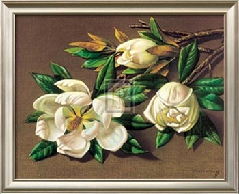 Magnolias Print by Vladimir Tretchikoff at Art.com