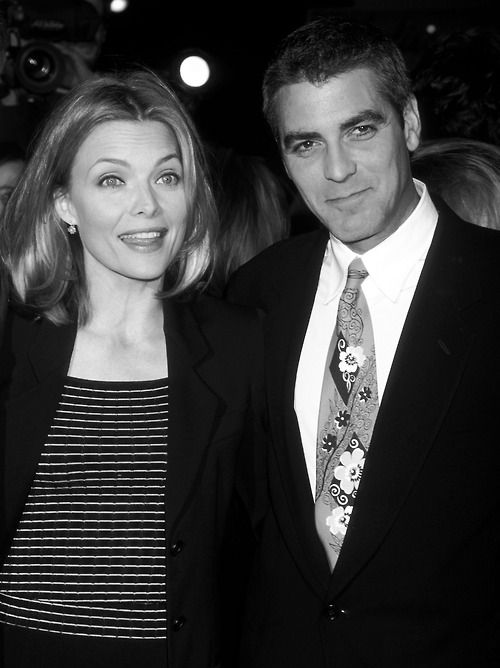Michelle Pfeiffer and George Clooney 1996