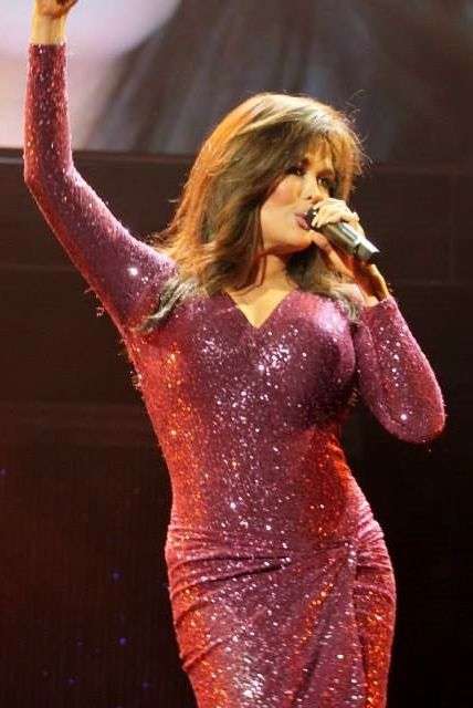 Marie Osmond performing at the Flamingo