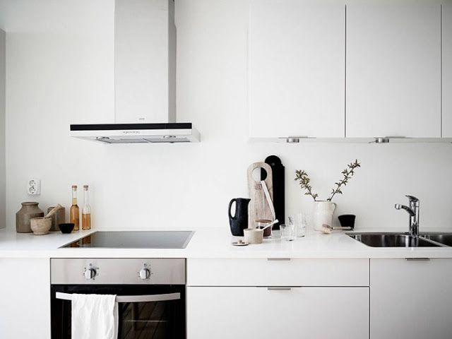 A pureza do branco num apartamento moderno ~ Decoração e Ideias - casa e jardim