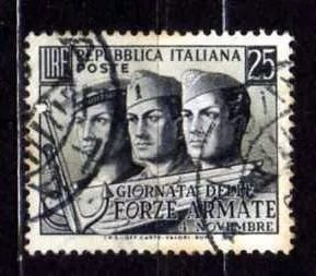 itália 1952 * soldados marinha exército aeronáutica