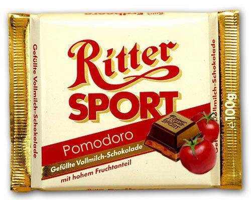 RITTER SPORT Fake Schokolade Pomodoro