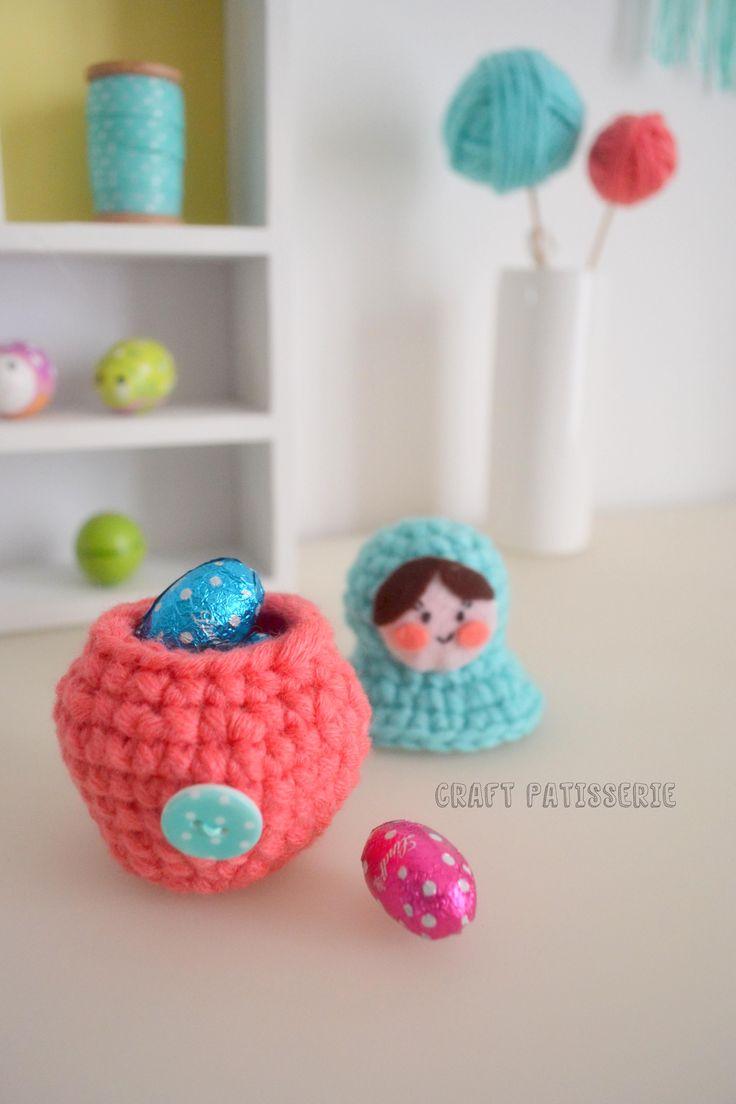 Amigurumi Russian Dolls : 10+ images about Crochet - Matryoshkas ! on Pinterest ...