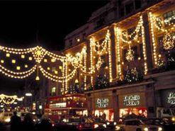 Londen - Kerst Oxford Street