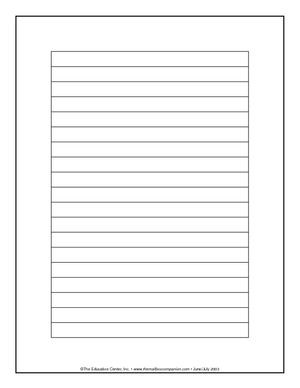 10 best images about blank writing templates on pinterest writing papers handwriting practice. Black Bedroom Furniture Sets. Home Design Ideas