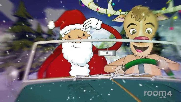 Animated Christmas card for M&G investments. We wanted to continue from last year's ending, where we saw santa jumping off a cliff. This year the adventure continues with Santa's partner in crime. Let's see why santa is in a rush. http://www.room4media.com/portfolio/santas-next-adventure-animated-christmas-card/
