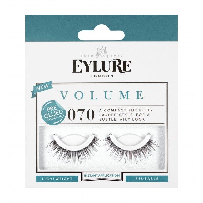 Eylure Pre-glued Volume False Lashes # 070