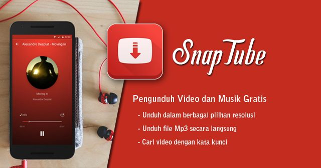 Info Aplikasi : Nama : SnapTube – YouTube Downloader HD Video Kategori : ToolApps Versi : 4.29.0.9907 (up Nov 2017) OS : 4.3+, SnapTube Cracked Apk, SnapTube YouTube Downloader Apk, SnapTube Apk Pro, SnapTube Pro Apk Terbaru Gratis