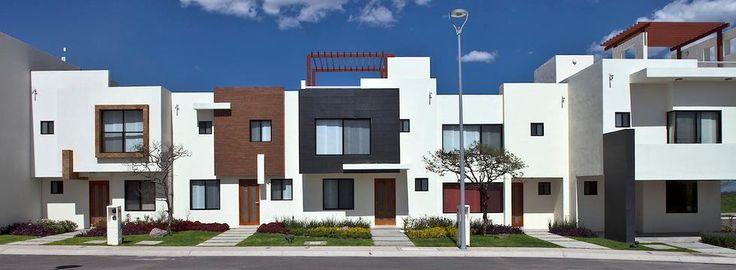 Fachadas El Canto, Casas Platino