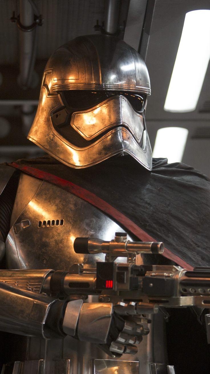 Movie Star Wars Episode VII: The Force Awakens Star Wars Captain Phasma.