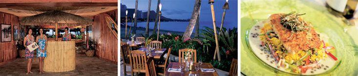 Duke's Canoe Club in Waikiki - dining room and bar