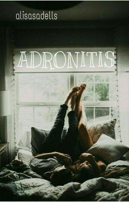 """Saya baru saja memublikasikan """" PENGUMUMAN """" dari cerita saya """" ADRONITIS """"."""