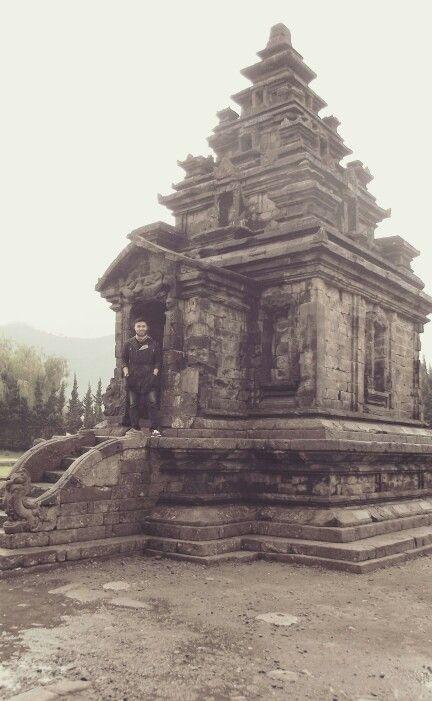 Arjuna Temple, Wonosobo. #Temple #Indonesia