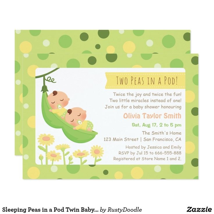 658 best Twin Babies Invitations and Gifts for everyone images on ...